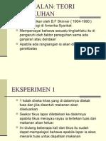 5.2 Teori Skinner-Kaedah Pengukuhan