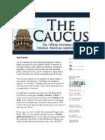 The Caucus August 19 2013