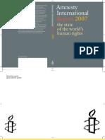 Amnesty International Report 2007