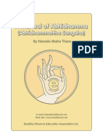 A Manual of Abhidhamma Pitaka