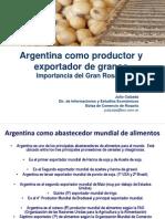 Argentina y la producción de Granos Mayo 2012