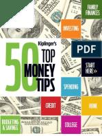 Kiplinger's Top 50 Money Saving Tips