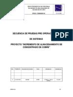 PPRE CE08H039 Procedimiento de Pruebas