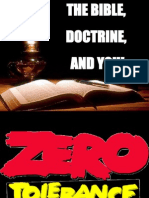 Grt Best the Bible, Doctrine, and You! The_trinity-1.Ppt