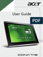 Iconia-tab-A500-UserManual Acer 1.0 a A