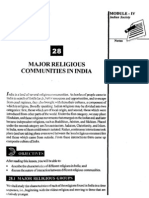 L-28 Major Religious Communities in India