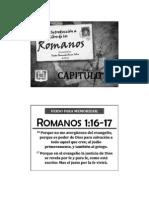El Libro de Romanos - Capitulo 1