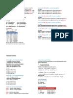 tabela de ácidos