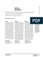 Políticas e práticas de saúde e equidade