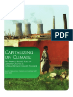 capitalizing on climate