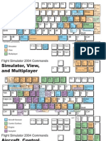 FS2004 Keyboard Reference
