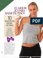 Buena Salud El Mejor Ejercicio Para Bajar de Peso