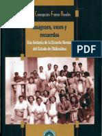 Imágenes, voces y recuerdos.  Concepción Franco