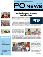 APO News (Monthly newsletter of the Asian Productivity Organization, June 2009 issue)