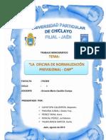 Monografia de La Onp