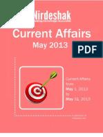 Current Affair May 2013 En