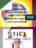 Presentacion-La Etica en El Ambito Laboral