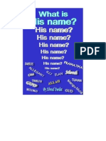 What is His name?