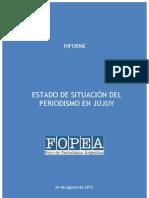 Informe de Fopea