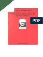 Habermas - o Discurso Filosofico Da Modernidade