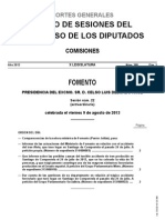 ComparecenciaMinistraFomento9ago2013