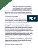 Hipotesis de La Mala Alimentacion en Mexico