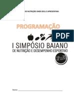 Programação Simpósio3