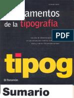 Fundamentos de La Tipografia
