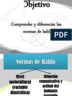 Normas Del Habla 07-08