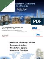 5 UOP Separex Membrane Technology