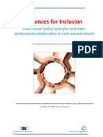 2013 Alliances for Inclusion - Cross-sector Policy Synergies and Interprofessional Collaboration in and Around Schools