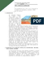 Datos Sismicos de Tacna