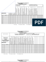 Perfil de Competencias de Preescolar