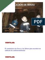 Ventilacion de Minas II
