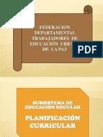 7. Plan de Desarrollo Curricular