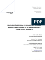 Reutilizacion de agua de procesos mineros Huarmey.pdf