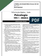 Fgv 2013 Mpe Ms Analista Psicologia Prova