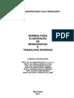 Normas para elaboração de monografias e trabalhos diversos