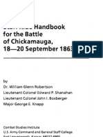 Staff Ride Handbook for the Battle of Chickamauga 18-20 September 1863