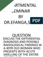 Lower Limb Swelling - Dr Efanga
