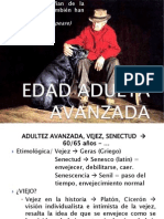 ADULTEZ AVANZADA