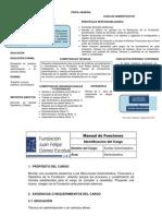 78753288 Funciones Auxiliar Administrativo Bogota