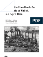 Staff Ride Handbook for the Battle of Shiloh 6-7 April 1862