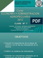 ECOYAD - AREA VII 2012 CLASE 7 Sistema de Indicadores