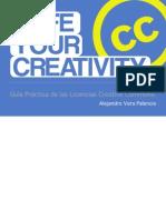 Guía Creative Commons by Alejandro Vera Palencia (BY NC SA ES 3.0)