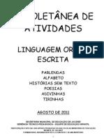3ª COLETANEA DE ATIVIDADES ARA O SEGUNDO SEMESTRE