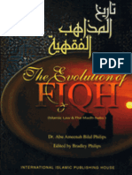 The Evolution of Fiqh By Bilal Philips