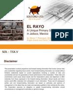 Pdac 2013 El Rayo