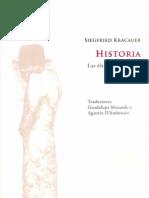 Kracauer, S. -'Tanto Comte Como Marx', En Historia