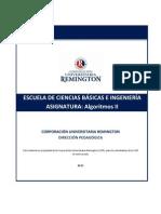 MÓDULO Algoritmos_II. Ingeniería Sistemas